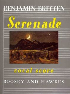 Britten: Serenade for Tenor, Horn and Strings - Vocal Score. £15.99