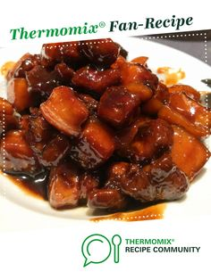 Recipe Sweet & Sour Pork Belly by Jing, learn to make this recipe easily in your kitchen machine and discover other Thermomix recipes in Main dishes - meat. Pork Belly Recipes, Meat Recipes, Appetizer Recipes, Recipes Dinner, Sweet Sour Pork Recipe, Chinese Cooking Wine, Food N, Meat Food, Pork Belly