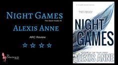 Title: Night Games Series: The Storm Inside #6 Author: Alexis Anne Genre: Contemporary Romance/ Sports Publication Date: June 29th, 2017 My Rating: ✮✮✮✮ Synopsis: Baseball's biggest player is…