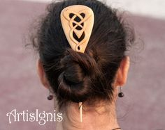 Celtic Knot Hair Stick by ArtisIgnis DoubleSided by ArtisIgnis