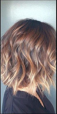 ombre short blonde tipped hair Totally looks like my hair in texture-- looks familiar. After the wedding day, I'd like to try this look.