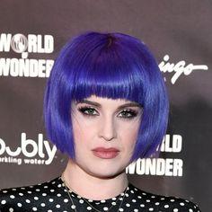 purple hair color ideas - kelly osbourne Pastel Purple Hair, Light Purple Hair, Purple Streaks, Purple Balayage, Plum Hair, Purple Highlights, Hair Color Purple, Hair Dye Colors, Dark Hair