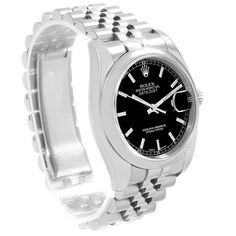Shop for Premier watches at SwissWatchExpo. ID theft protection. Rolex Watches For Men, Luxury Watches, Rolex Logo, Pre Owned Rolex, 3 O Clock, Rolex Datejust, Stainless Steel Case, Mens Fashion, Man Stuff