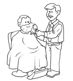 Occupations - 999 Coloring Pages Community Workers, Community Helpers, Coloring Sheets, Adult Coloring, People Coloring Pages, Old Folks, Kids Education, African Art, Kids Learning