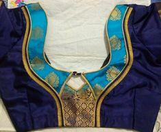 Saree Blouse Neck Designs, Blouse Patterns, Blouse Designs, Neck Pattern, Kurti, Designers, Blouses, Turquoise, Models