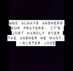 American Horror Story Asylum quote
