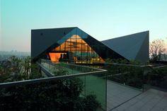 Greenland Clubhouse, Chongqing (Chine) by Pure Architecture, Alan Xiaojiang Huang   #China #Chongqing #zinc #CommercialBuilding #vmzinc #facade #roofing #architecture