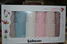 Набор кухонных полотенец Saheser Vip Cotton (100% хлопок) 6шт. 30х50см. Турция, фото 2