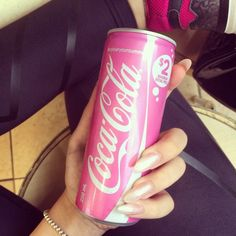 This can of soda is prettier than me