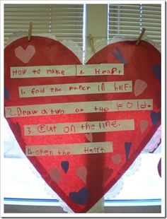 shared writing how-to going to do this with my kids on Monday, ahhh so great!!!!