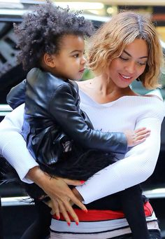 Beyoncè & Blue Ivy in NYC Nov 4th, 2014