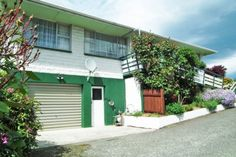 Secure garage with internal access
