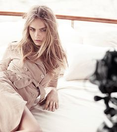 Cara Delevingne the face of Burberry Body Tender