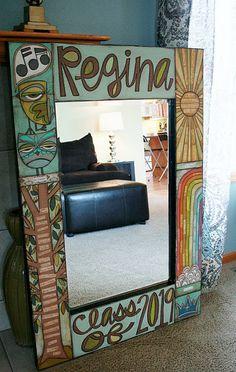 big custom mirror