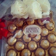 Special day, special moment with this flower and chocolate..