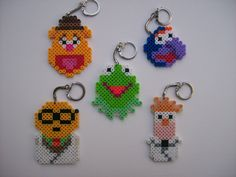 Muppets Melty Beads - Use Pattern for Cross Stitching if McSnubbins gets bored and needs a project he can make these for me :)