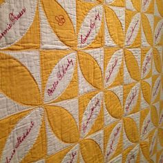 signature quilt. #quilt #textile #canada by sweetie pie press, via Flickr