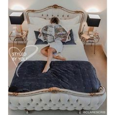 Buy the beautifully designed Palais Royal Avenue Upholstered Bed, by The French Bedroom Company. Shop 24 hours a day for Effortless Luxury Online.