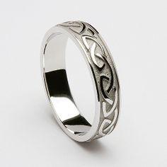 Cabhan Celtic Wedding Ring (C-359) - Celtic Wedding Rings