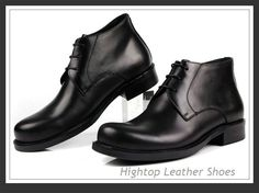 Free shipping new 2014 hightop men auntumn and winter boots genuine leather classic style short boots men size38-45 $468.75