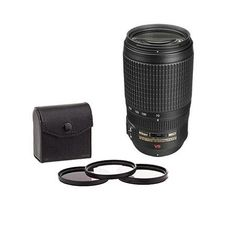 Nikon 70-300mm f/4.5-5.6G ED-IF AF-S VR Nikkor Lens - USA w/Free Filter Bundle