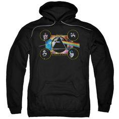 Pink Floyd - Dark Side Heads Adult Pull Over Hoodie