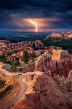 Bryce Canyon NP Storm