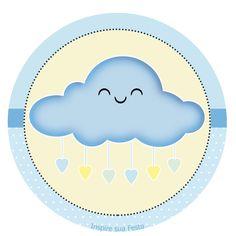 Chuva de amor Meninos: Kit festa grátis para imprimir – Inspire sua Festa ®