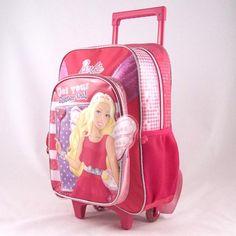 Troler Barbie BRB27003 Barbie, Backpacks, Bags, Fashion, Handbags, Moda, Fashion Styles, Backpack, Fashion Illustrations