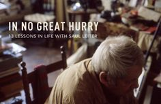 In No Great Hurry, a film by Tomas Leach, shines a spotlight on the work of photographer Saul Leiter, who could have been one of the greats of fashion photography, but was never driven by success. Saul Leiter, History Of Photography, Color Photography, Glamour Photography, Abstract Photography, Lifestyle Photography, Editorial Photography, Fashion Photography, Berenice Abbott