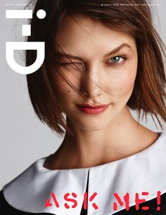 Karlie Kloss for i-D Magazine, March 2013, 324 The Q+A Issue  Photography Matt JonesStyling Sara Moonves
