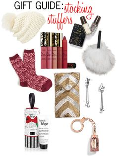 {HOLIDAY GIFT GUIDE} STOCKING STUFFERS | featuring mark. Nailed It nail polishes