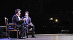 Al Pacino, anoche, en el Teatro Colón