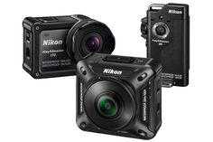 Nikon announces a line of rugged action cameras