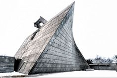 Marcel Breuer 1966 St Francis de Sales – Church and Rectory – Muskegon, MI – with Herbert Beckhard