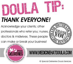 30 doula business tips in 30 days...tip #8