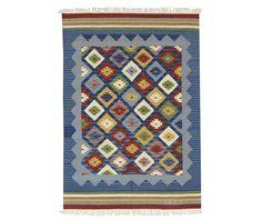 Covor Kilim Adamaris Blue 125x185 cm - Vivre.ro Interior Decorating, India, Quilts, Holiday Decor, Classic, Blue, Home Decor, Decoration, Products