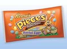 REESE'S PIECES Peanut Butter Pastel Egg Candy