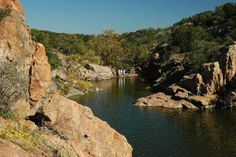 Devil's Waterhole - Inks Lake State Park