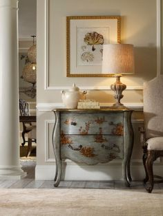 Gray with a story. ///////////////////// South Shore Decorating Blog: Weekend Roomspiration #11