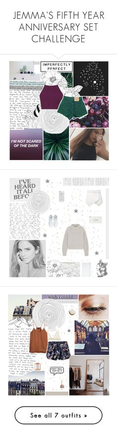 """""""JEMMA'S FIFTH YEAR ANNIVERSARY SET CHALLENGE"""" by gintare-13 ❤ liked on Polyvore featuring snowinseptember5years, Topshop, Isabel Marant, adidas, NLXL, ASOS, INC International Concepts, Herbivore, Eberjey and H&M"""