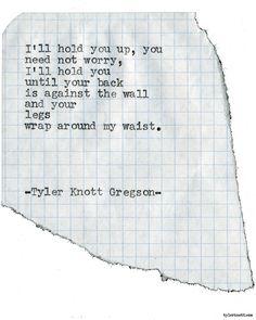Typewriter Series #1788 by Tyler Knott Gregson
