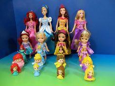ariel and cinderella doll - Google Search