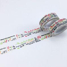 Math Washi Tape • Ma