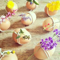 Spring flowers + eggs = Easter! Styled by Pack A Perfect Party.