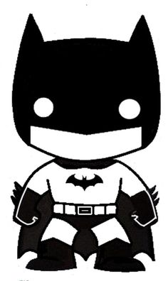 Vinyl Decal Truck Car Sticker Laptop - DC Funko Pop Batman #Oracal