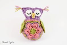 Free Sleepy Owl Toy Crochet Pattern
