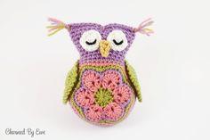 Free Sleepy Owl Toy Crochet Pattern
