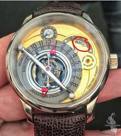 P.S.A: GREUBEL FORSEY INVENTION PIECE 1 (#10/11) STOLEN FROM INDONESIAN COLLECTOR