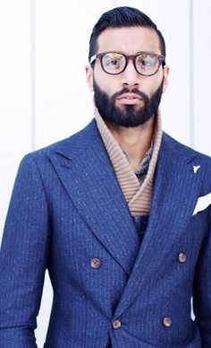 "Via beardbrand: ""Tailored layers"" loving the look Look Fashion, Suit Fashion, Suit And Tie, Well Dressed Men, Gentleman Style, My Guy, Men Looks, Stylish Men, Men Dress"